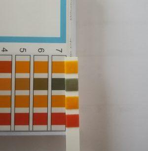 pH van mijn dinkwater- rond 7