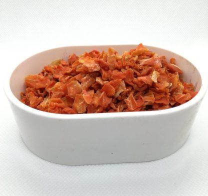 gedroogd wortelvlokken